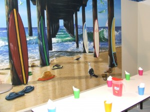 Wizbang Beach Party Room
